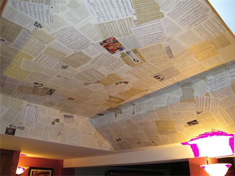 One-of-a-kind Ceiling