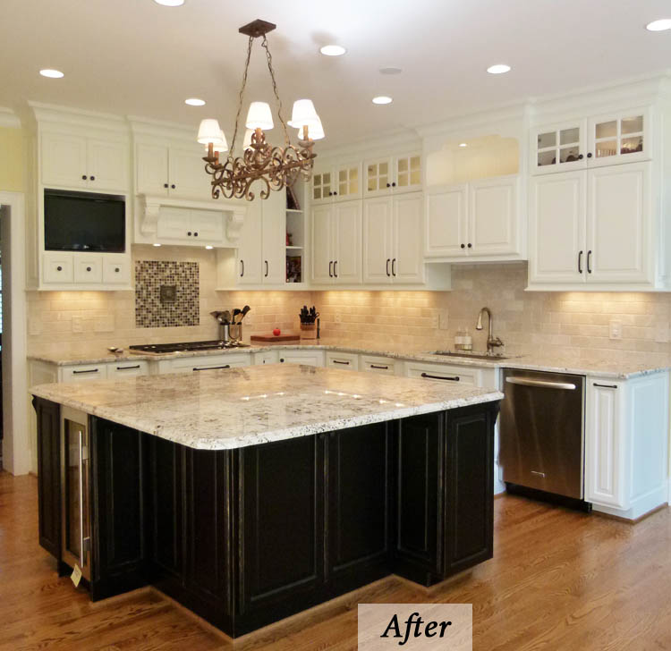 French Country Kitchen Meets Transitional