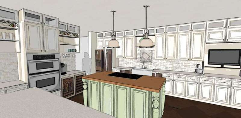 Kitchen Option 2B