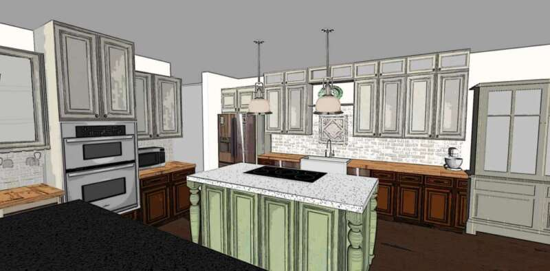 Kitchen Option 3