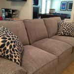 Pearson sofa and pillows