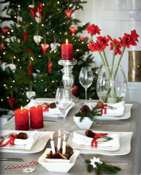 How To Perfect Your Christmas Table Decorations  CnNzLTAtNUIyZmRh: Party Perfect Table Settings