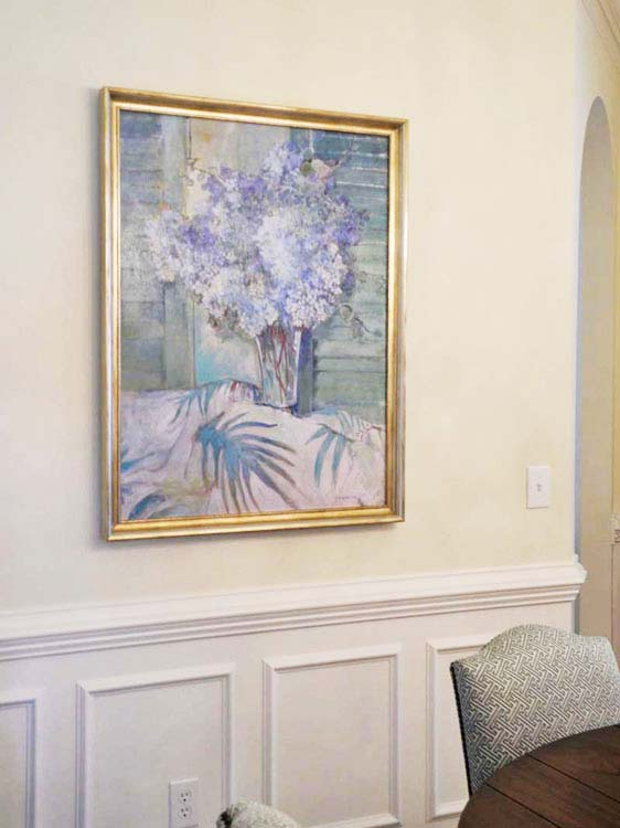 The Art Of Hanging Art June Delugas Interiors