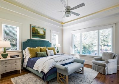 master bedroom, tray ceiling
