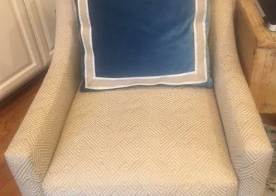 pillow, chair