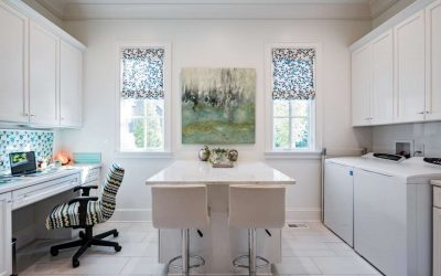 Dramatic Laundry Rooms