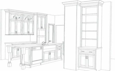 Turnkey Projects for the New Year!  The Art of an Imagined Kitchen