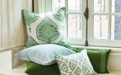 Pillows Creatively Styled, Including Pet Pillows